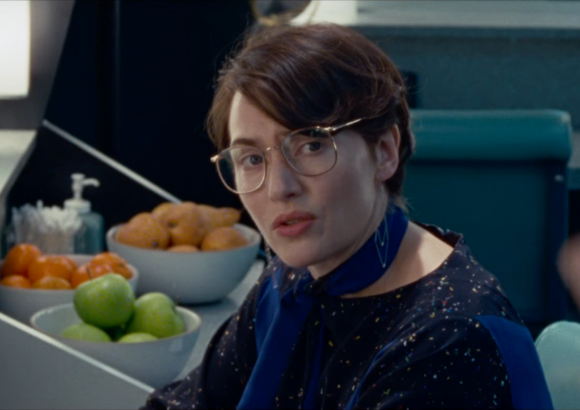 What Joanna Hoffman told Kate Winslet while shooting the Steve Jobs