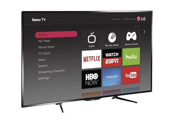 LG TV with Roku