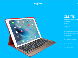logitech create keyboard