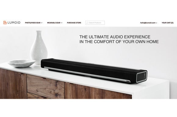 Lumoid home audio