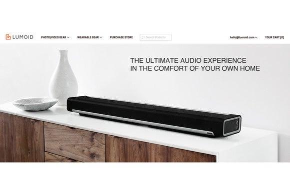 Lumoid home audio