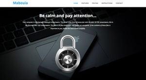 mabouia mac ransomware