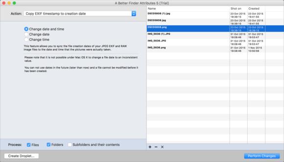 mac911 a better finder attributes exif