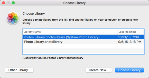 How to move an Apple Photos for OS X library to an external drive