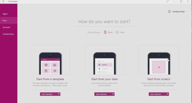 Microsoft PowerApps helps non-developers build mobile apps