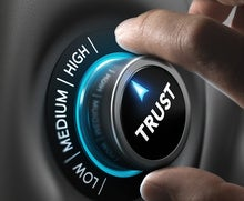 How do you build trust in your organization?