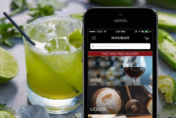 minibar ios delivery apps