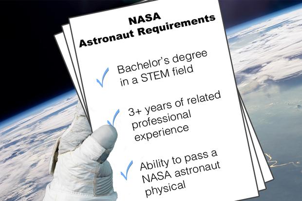 nasa astronaut job