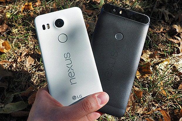 Nexus 5X, Nexus 6P Size