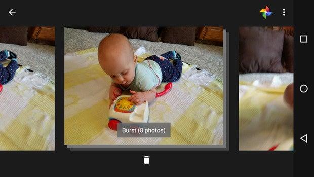 Nexus 6P Smart Burst Gallery
