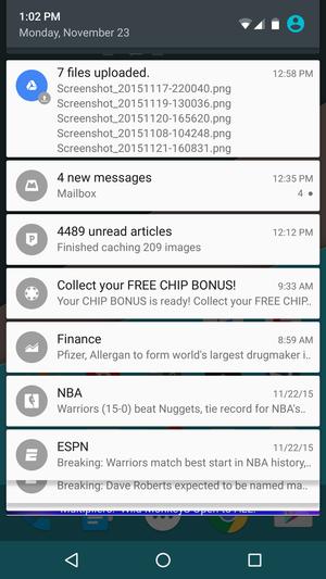 notification center