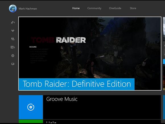 Microsoft New Xbox One Experience home reshoot