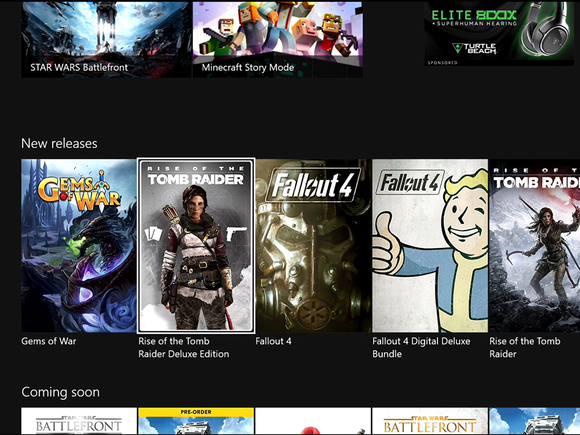 Microsoft New Xbox One Experience NXOE More games