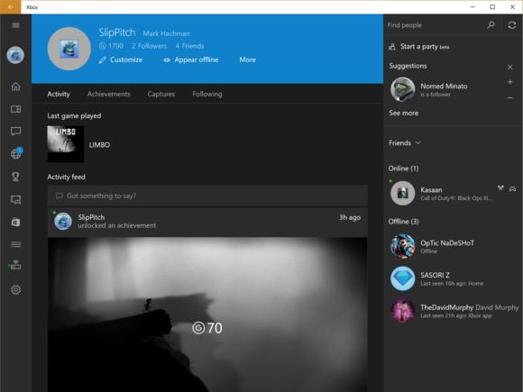 Microsoft New Xbox One Experience NXOE Xbox app