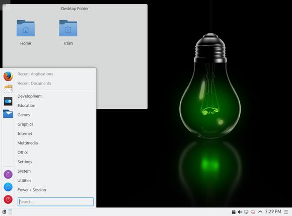 opensuse leap desktop