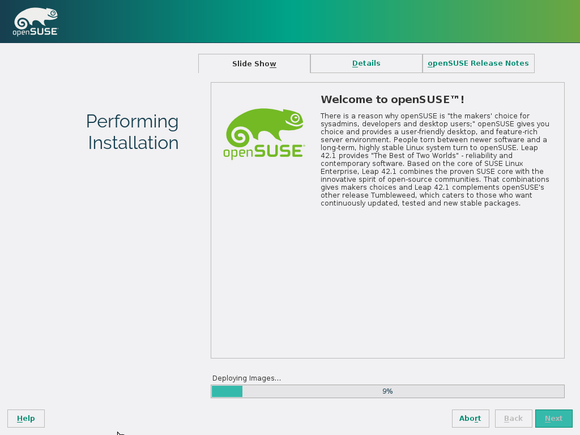 opensuse leap install