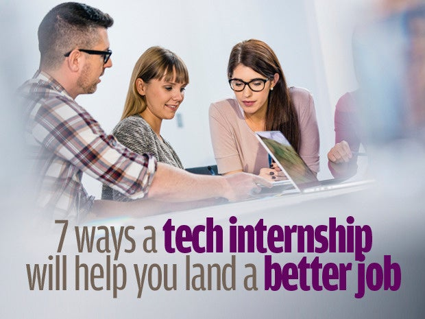 Tech internships pay off