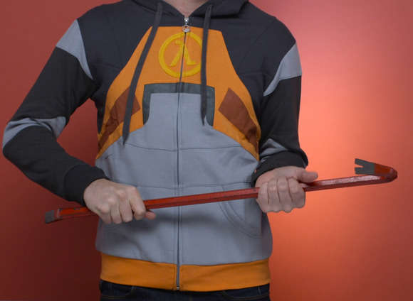 pc gamer gifts gordon freeman hoodie