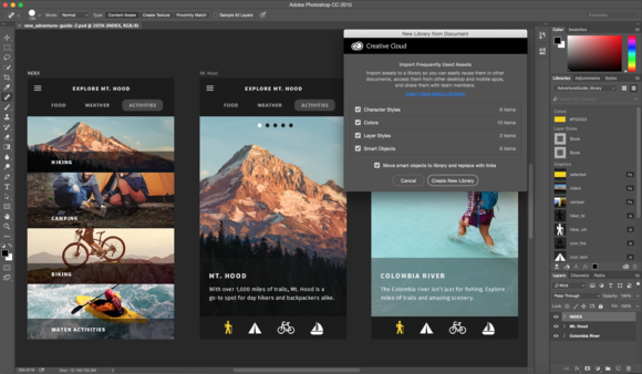 photoshop update libraries improvements
