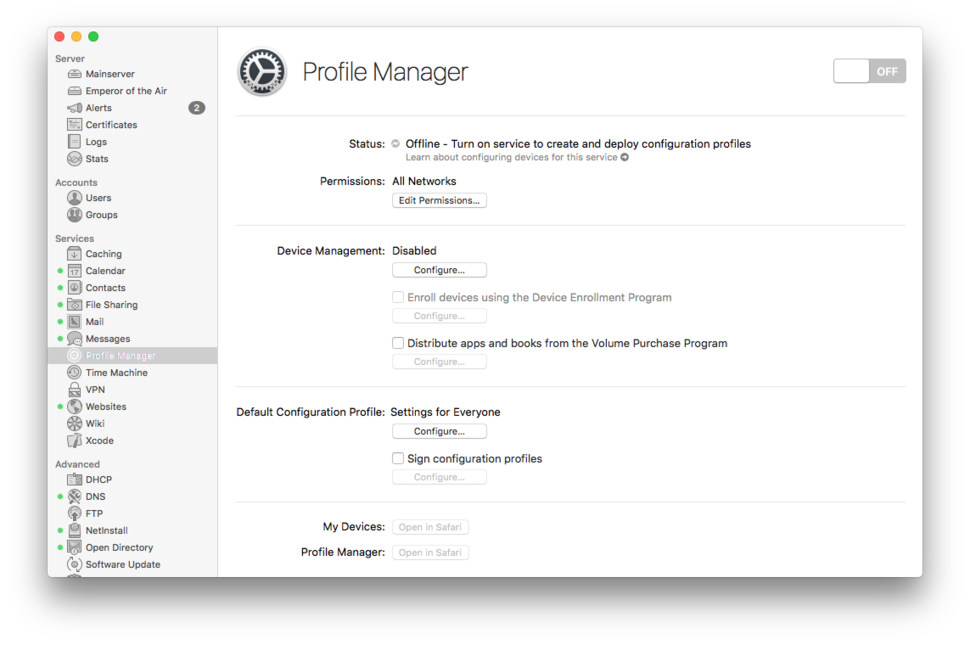 A Primer In Profile Manager Macworld