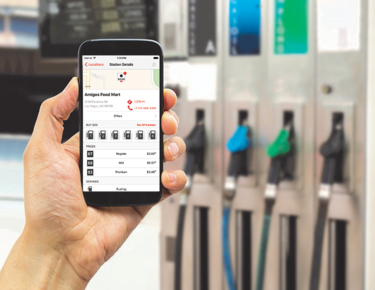 P97 mobile payment at pump