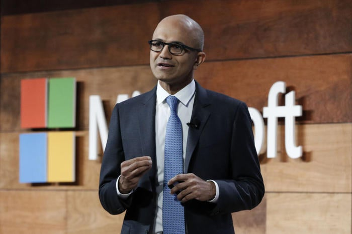 The tech world's best CEO? Microsoft's Nadella, hands down.