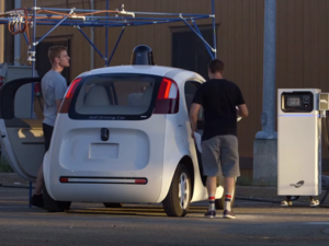 Google autonomous car self-driving