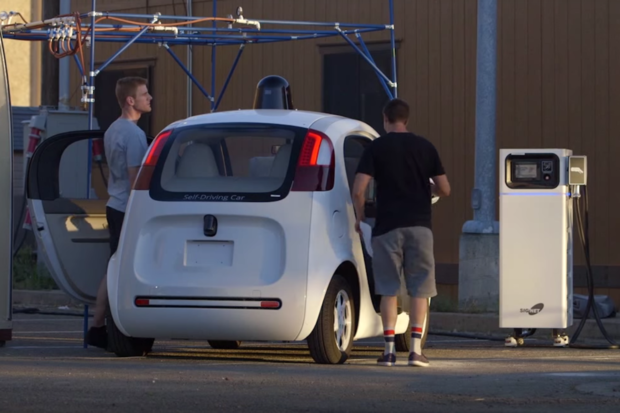 Google autonomous car self-driving