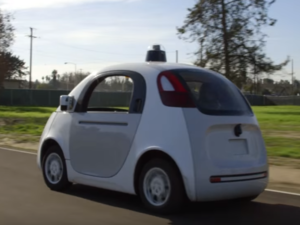 Google self-driving autonomous car