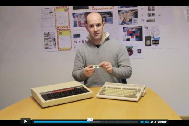 Eben Upton reveals the Raspberry Pi Zero