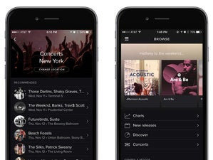 spotify concert songkick mobile