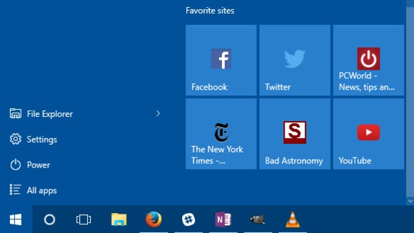 How to add any website to Windows 10's Start menu | PCWorld