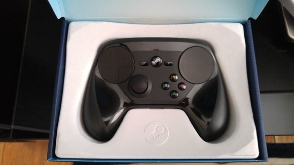 steam controller boxed
