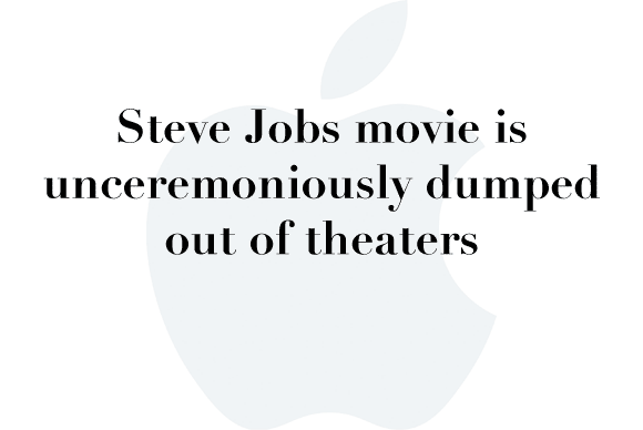 steve jobs movie dumped