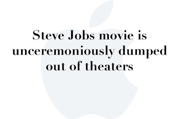 steve jobs movie dumped