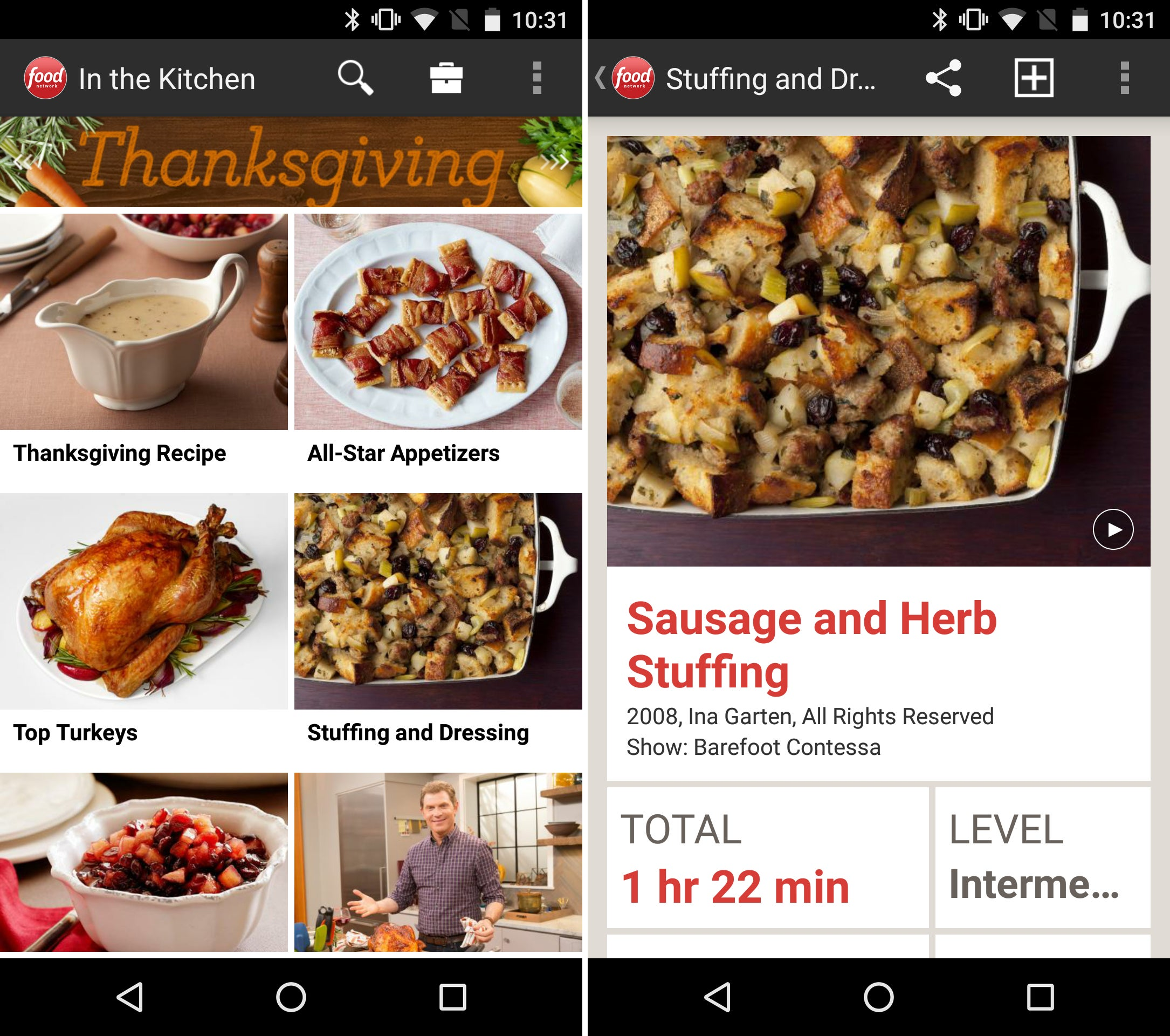 Green Kitchen App Android: Pull Off An Amazing Thanksgiving Feast With These 12