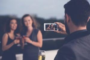 iphone photos friends smartphone