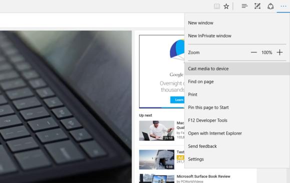 threshold 2 edge cast media Microsoft Windows 10
