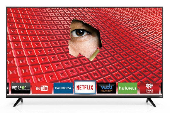 Vizio slapped with class-action lawsuits over alleged smart