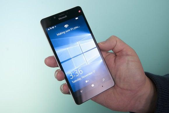 Windows Hello Windows 10 Mobile