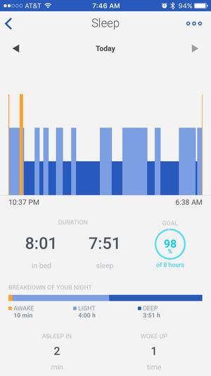 withings health mate sleep