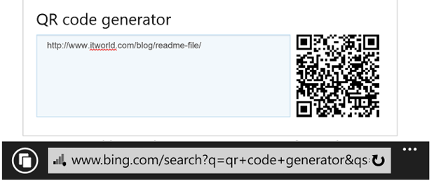 How To Scan And Generate Qr Codes On Windows Phone Computerworld
