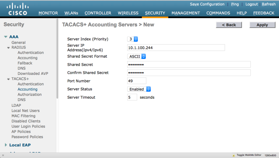 Device administration with Cisco WLC | Network World