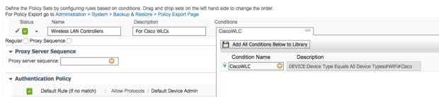 WLC Dev Admin Set
