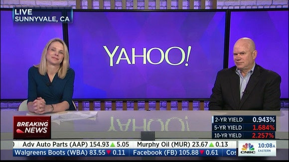 Yahoo changes direction, spins off everything except Alibaba