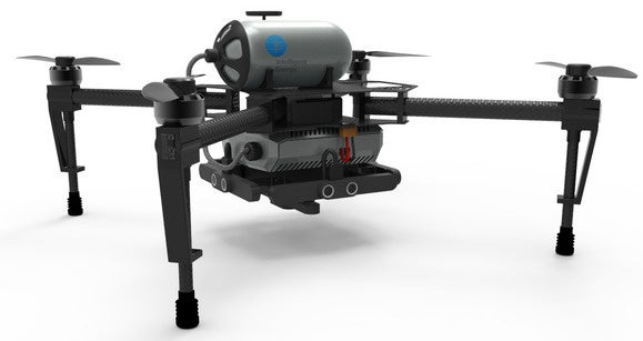 Hydrogen-powered fuel cells proposed to keep drones in the