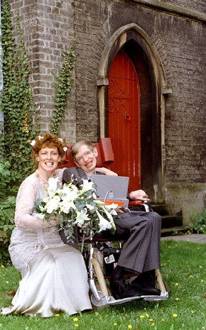 Hawking marries