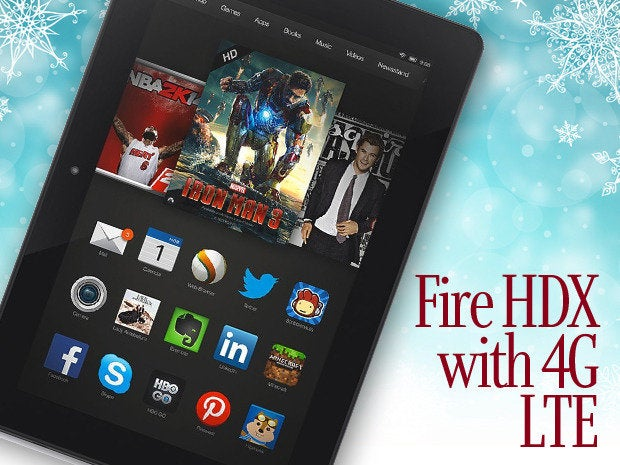 Fire HDX with 4G LTE