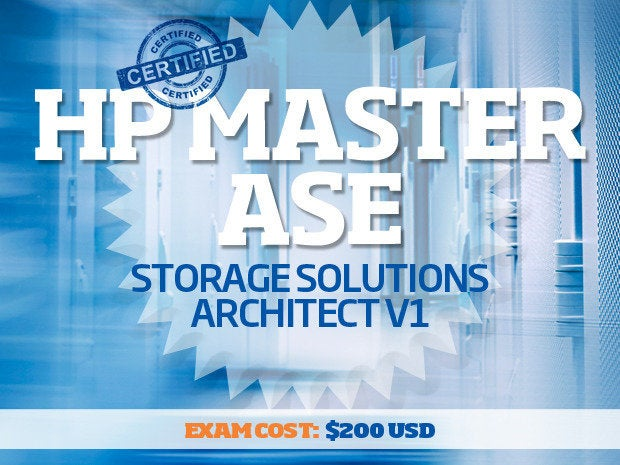 Top 7 storage certifications for IT pros - 6 hp master ase