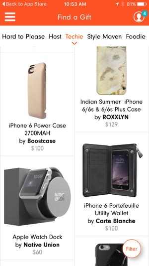 aha ios app gifts